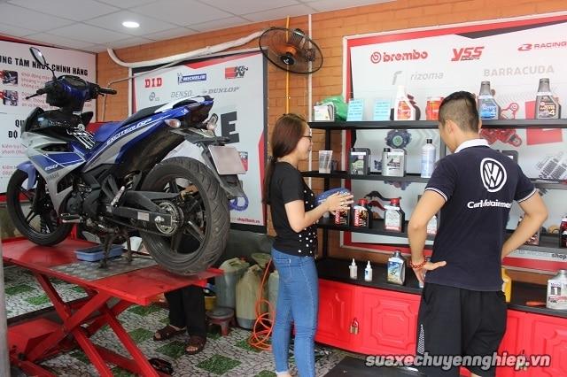 Sửa xe máy quận tân phú - 1