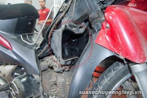Nguyên nhân cách khắc phục bệnh xăng gió xe máy - 1
