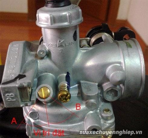 Điều chỉnh chế hòa khí xe máy đúng cách - 2