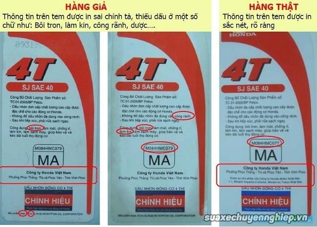 Nhận biết nhớt giả để bảo vệ động cơ xe máy  - 6