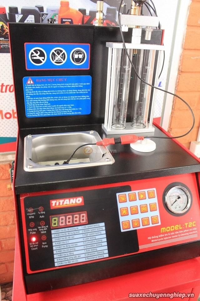 Vệ sinh kim phun xăng điện tử giá rẻ tại sài gòn - 2