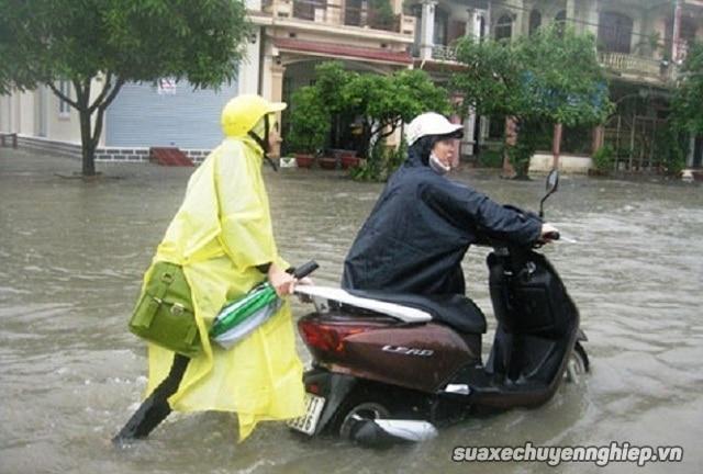 Xe tay ga bị ngập nước thì khắc phục thế nào - 2