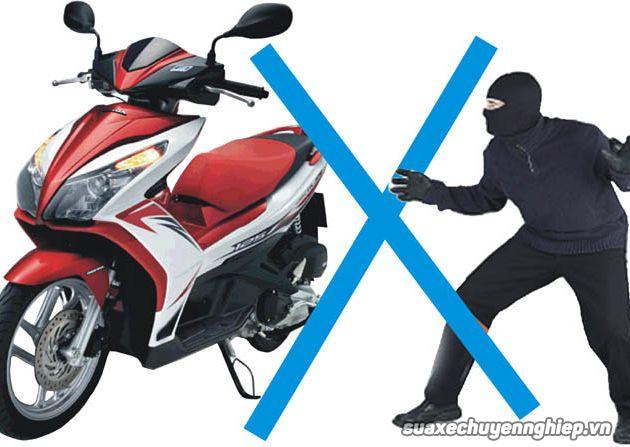 Có nên lắp khóa chống trộm xe máy smartkey honda  - 4