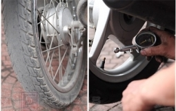 Áp suất lốp xe máy và những điều cần lưu ý?