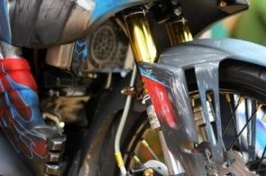 Sửa phuộc, chén cổ xe máy Exciter uy tín tại TP.HCM