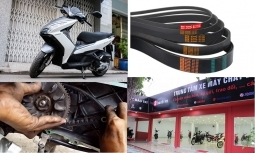 Giá dây curoa xe tay ga Air blade 110, 125 bao nhiêu hợp lý?