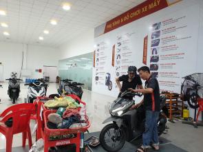 Trung tâm bảo dưỡng xe máy TPHCM