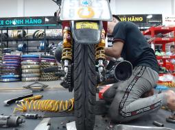 Bảo dưỡng xe máy trước tết cần làm những gì?
