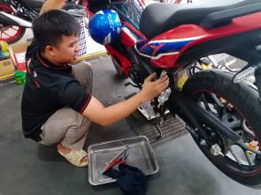 Trung tâm bảo dưỡng xe máy Quận Bình Tân