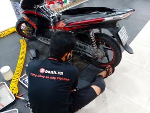 Làm nồi xe tay ga Air Blade uy tín tại TP.Hồ Chí Minh